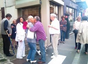 Vernissage Exposition Violaine Pilzer à Fontainebleau