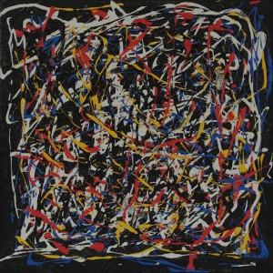 Acrylique sur toile 20 x 20 cm de Violaine Pilzer