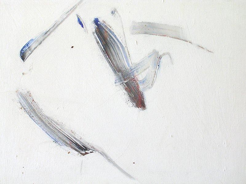 Errances 9 acrylique de Violaine Pilzer